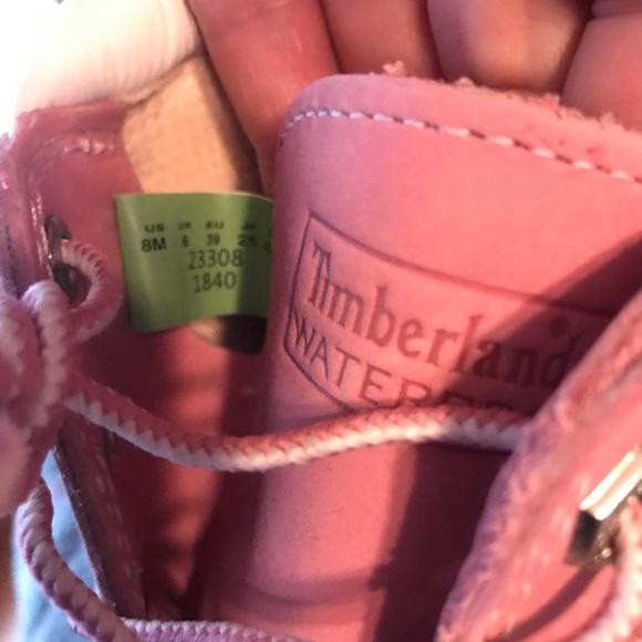 Para Mujer De Tamaño Botas Timberland Rosa 8 6TceO4xIN9
